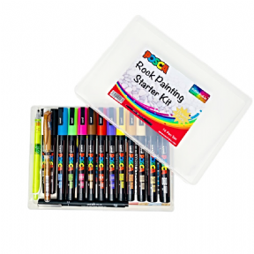 Deluxe Posca Rock Painting Starter Kit